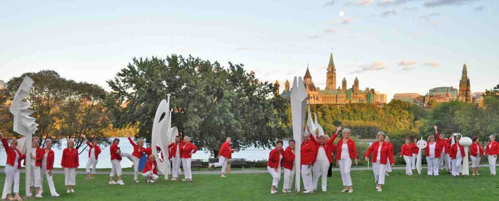 Capital Chordettes singing Ottawa women