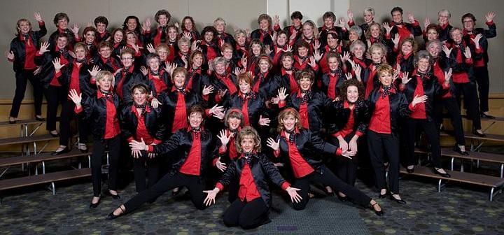 IC & C 2017 Capital Chordettes women singing